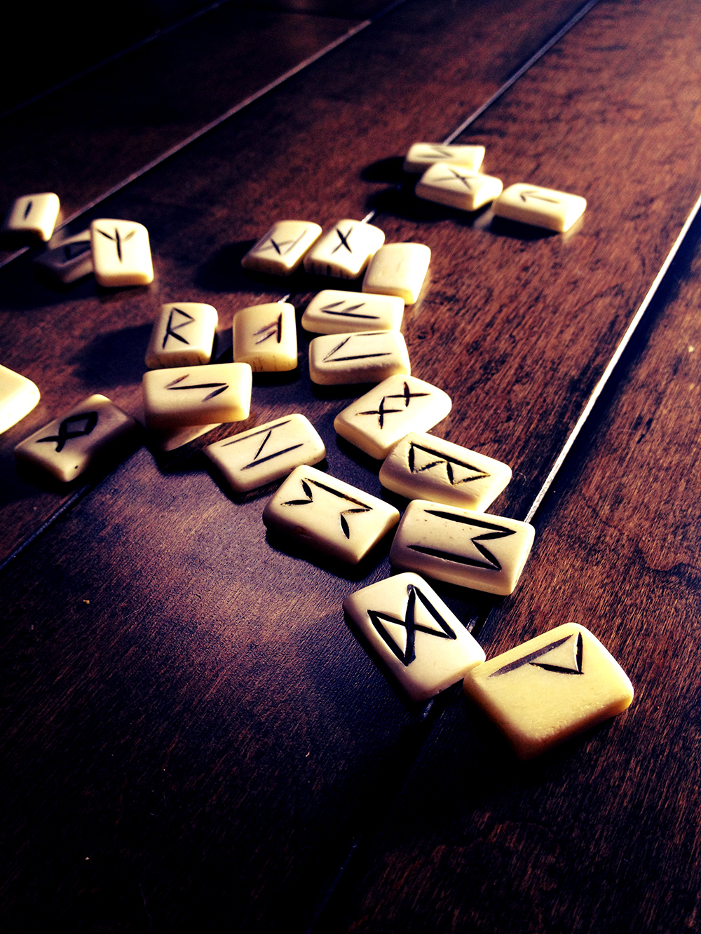 Norse Bone Runes