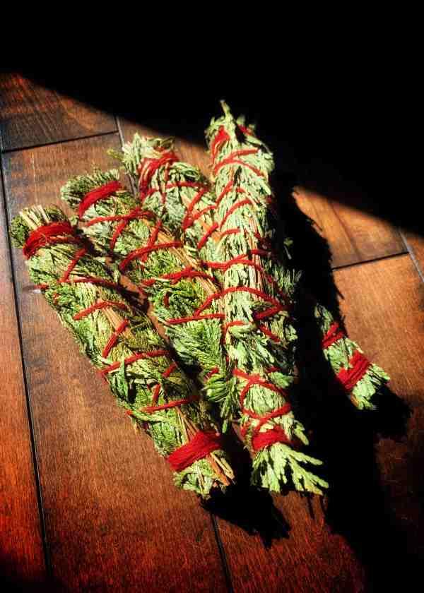 Cedar & Sweetgrass Smoke Bundle