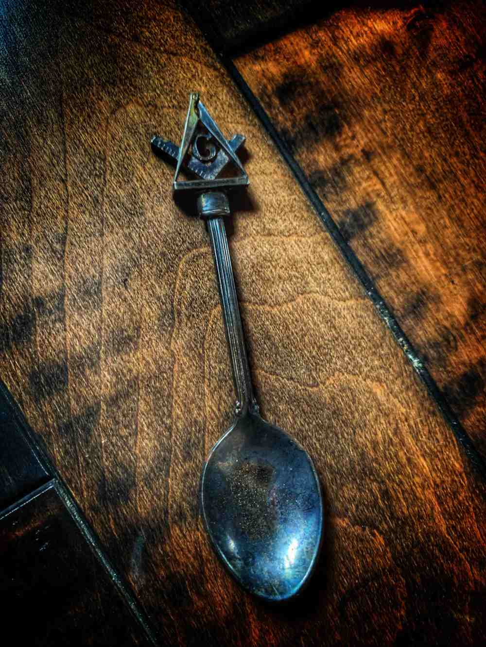Masonic Teaspoon Vintage