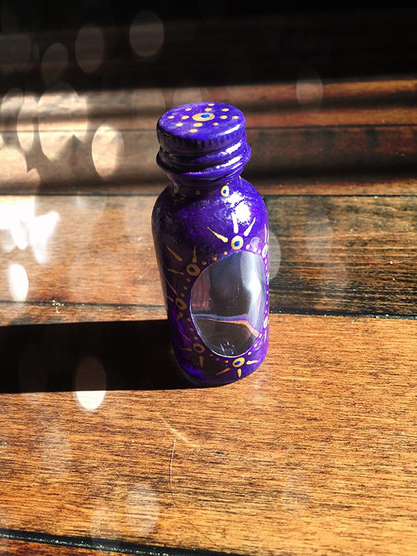 Santa Muerte Bottle Spell