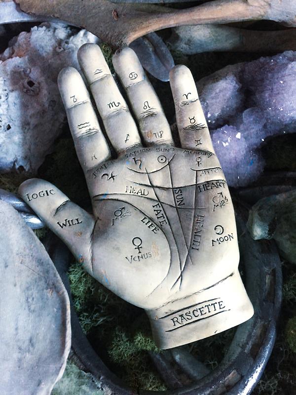 Palmistry Sculpture & Booklet