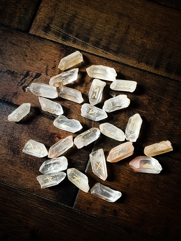 The Witches Lemurian Rune Set