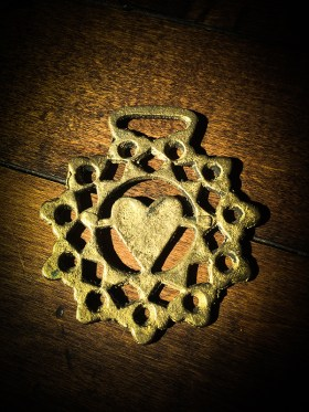 Vintage Horse Harness Brass