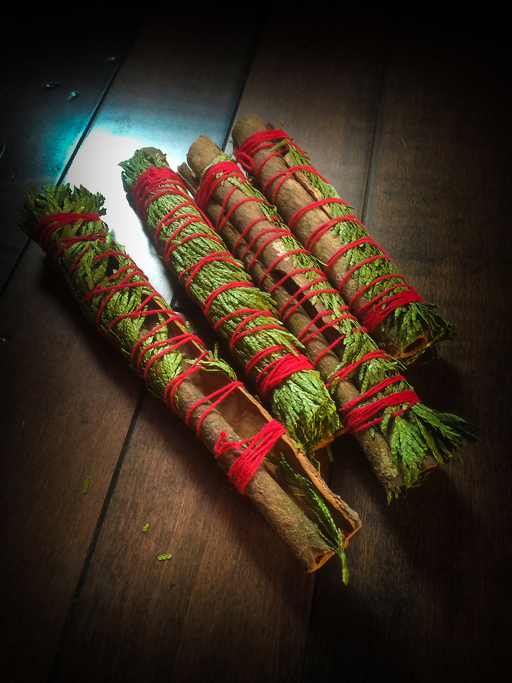Cedar and Cinnamon Yule Log