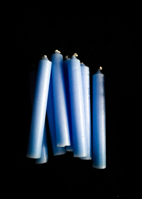 Altar Candle Blue / Spell Candle
