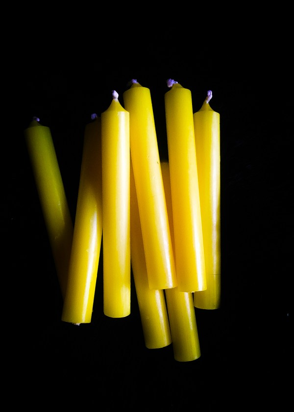 Altar Candle Yellow / Spell Candle