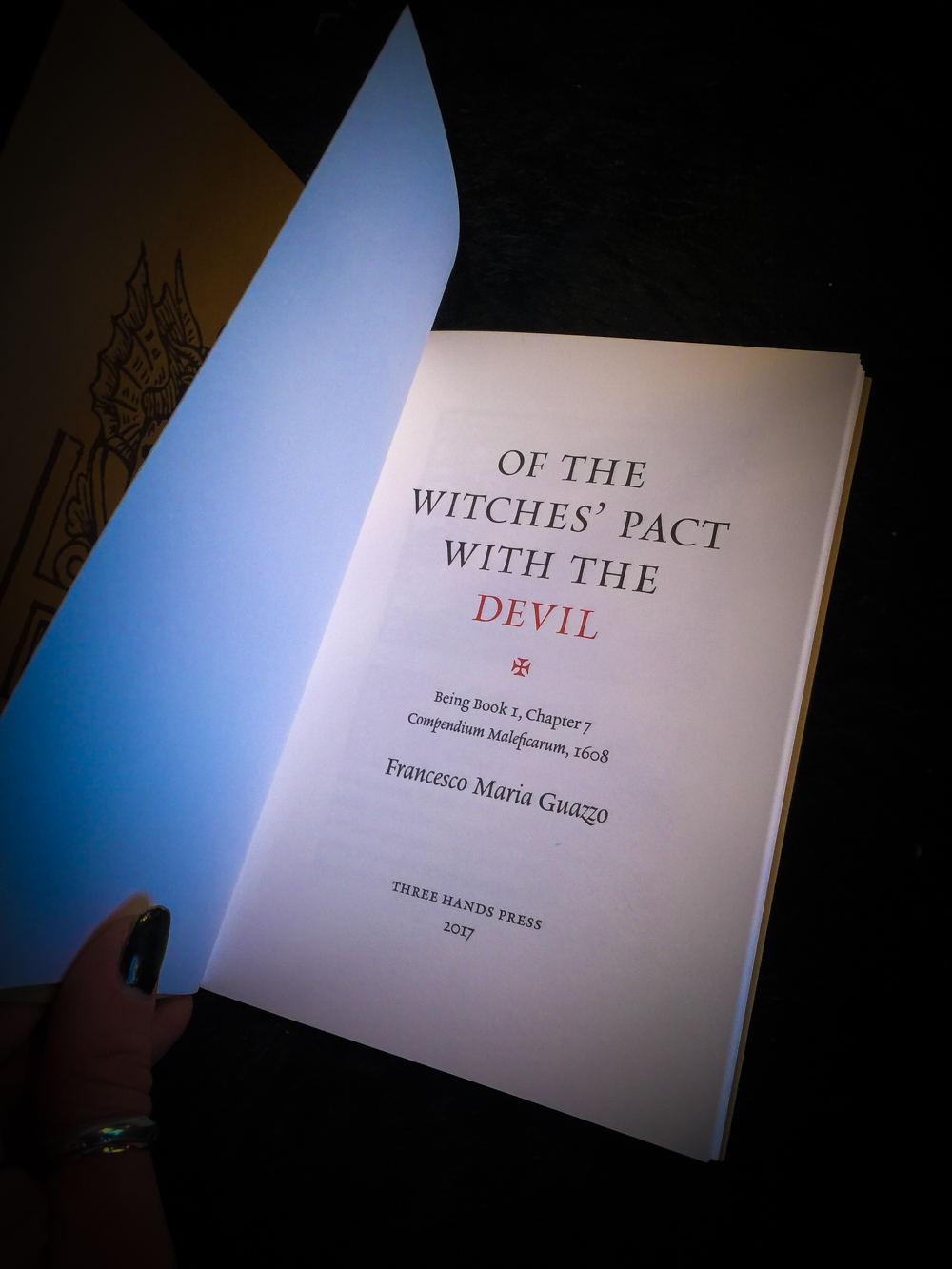 Of the Witches Pacts with the Devil