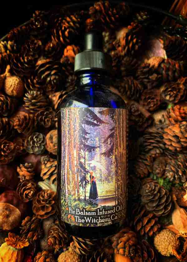 Fir Balsam infused Ritual Oil