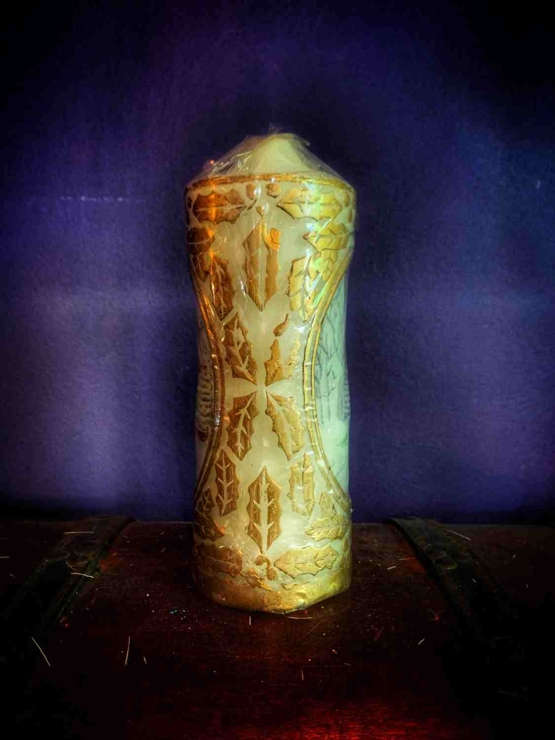Vintage Church Candle