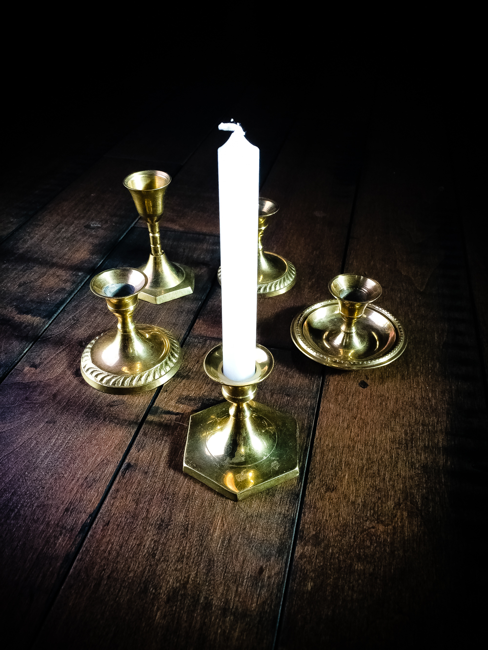 Chime Candle Holder / Spell Candle Holder / Altar Candle Holder