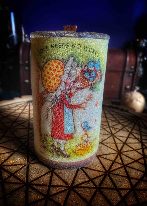 Friendship Healing Vintage Sugar Candle