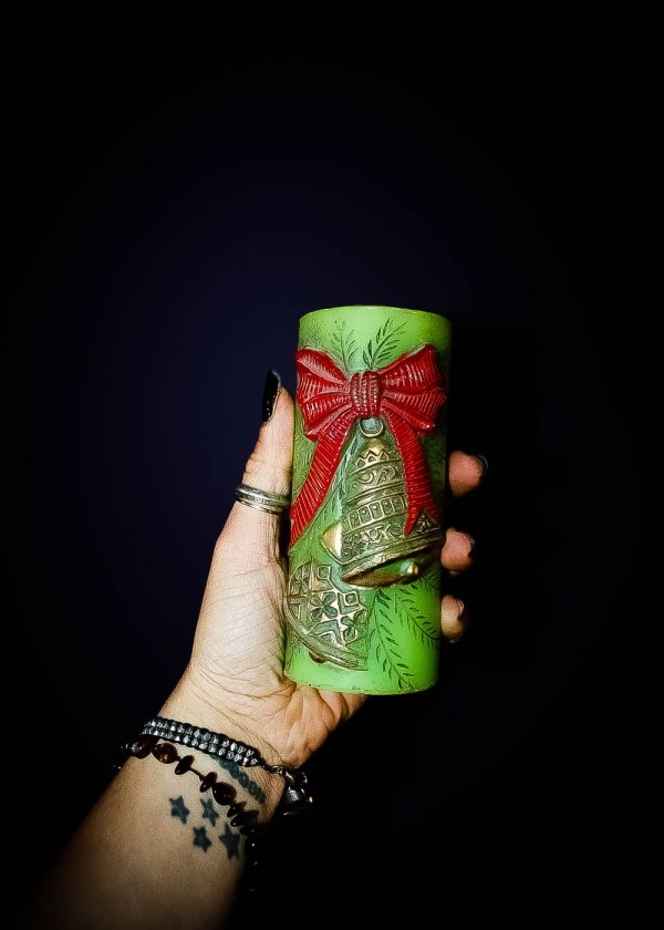 Vintage Yule Candle