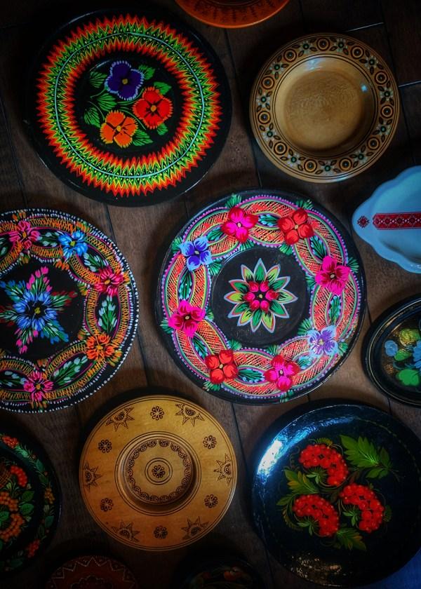 Altar Plate Vintage Slavic Surprise