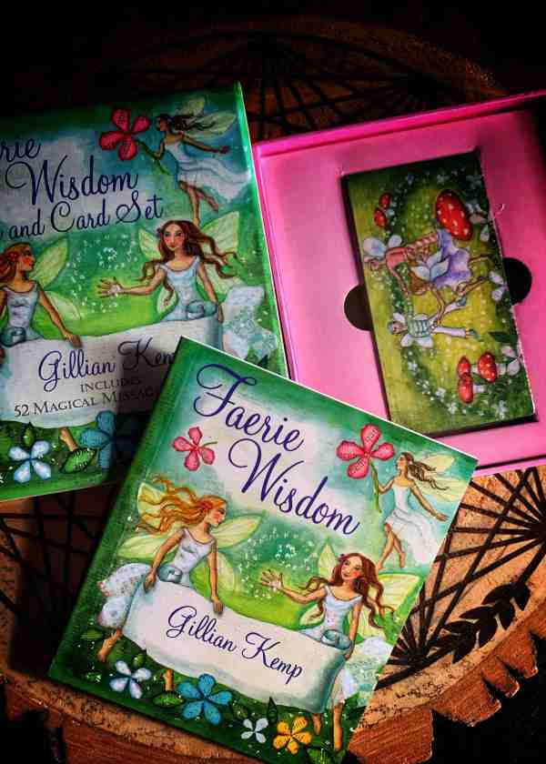 Faerie Wisdom: Book and Card Set