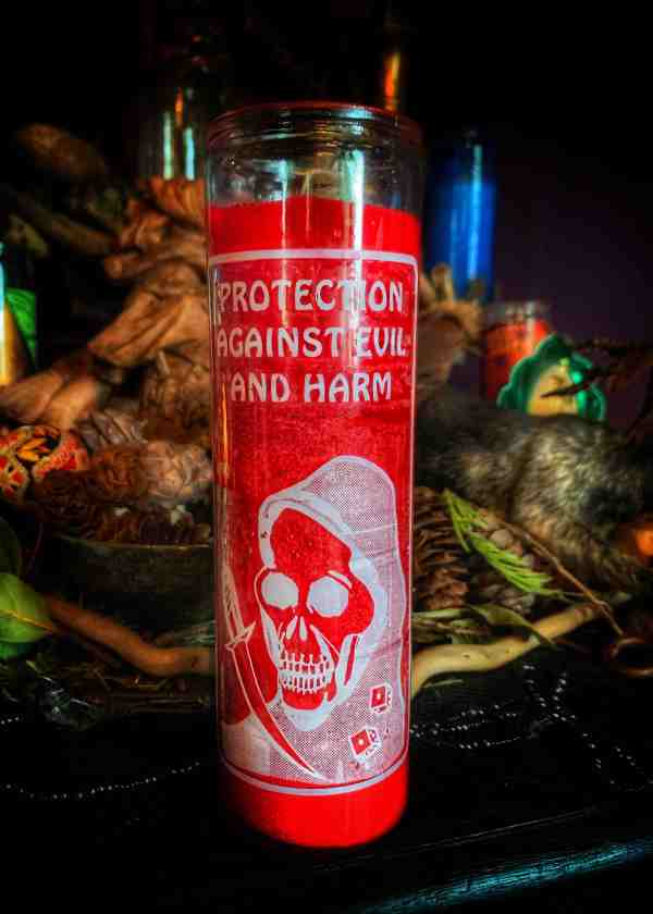 Protection Vigil Candle