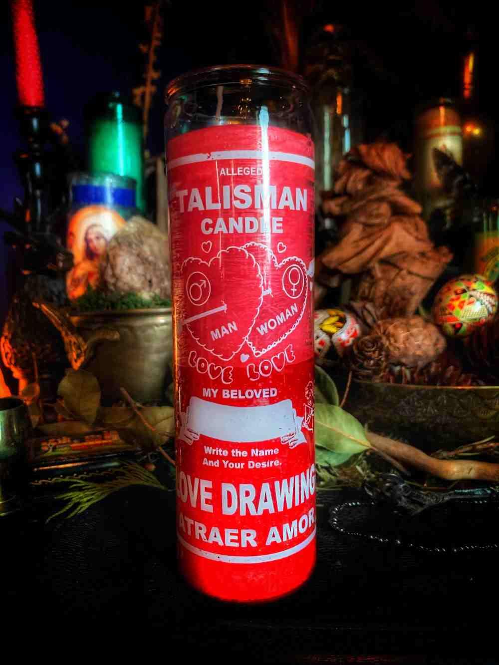 Love Talisman Vigil Candle