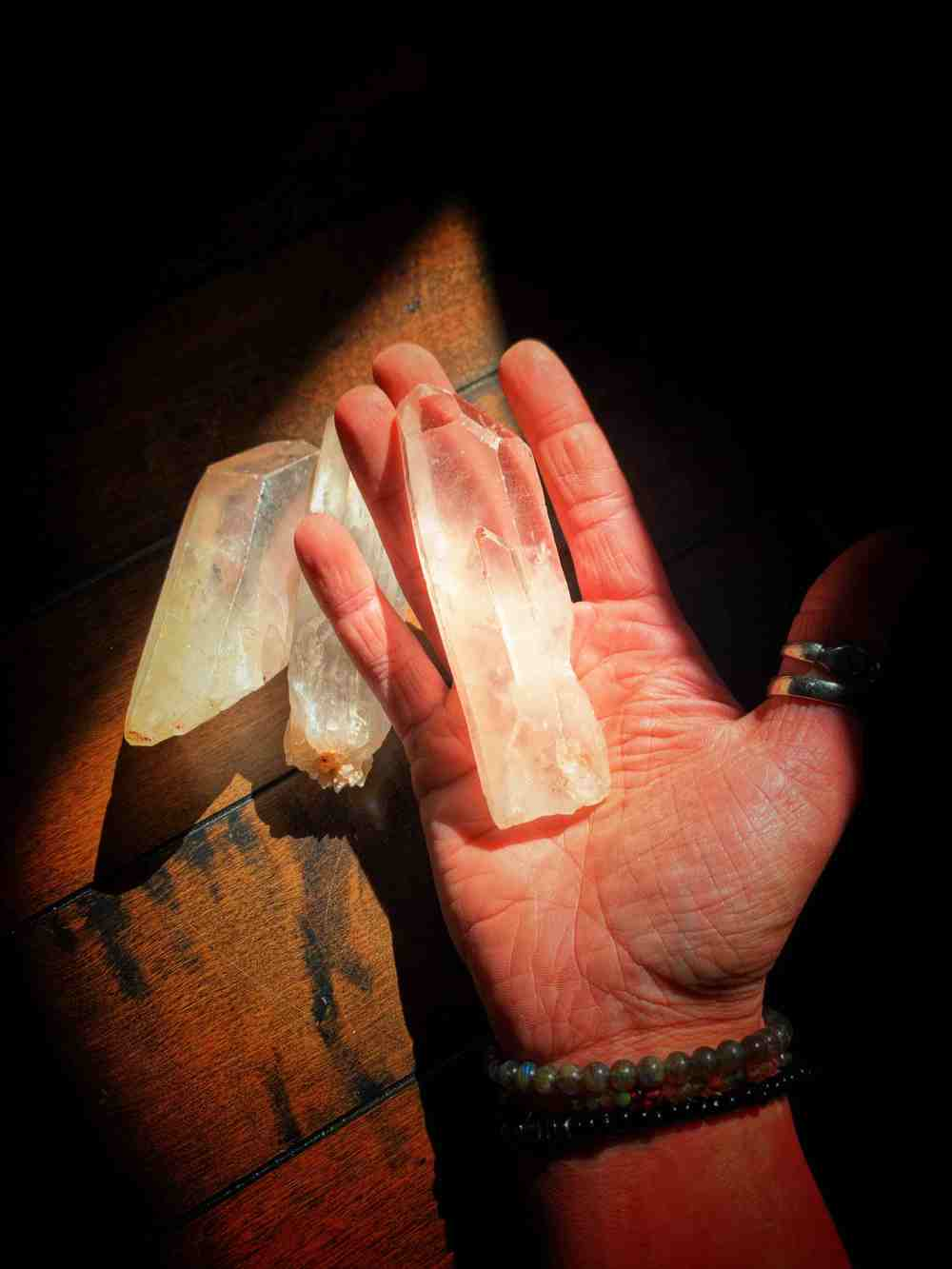 Quartz Crystal Witch Wand