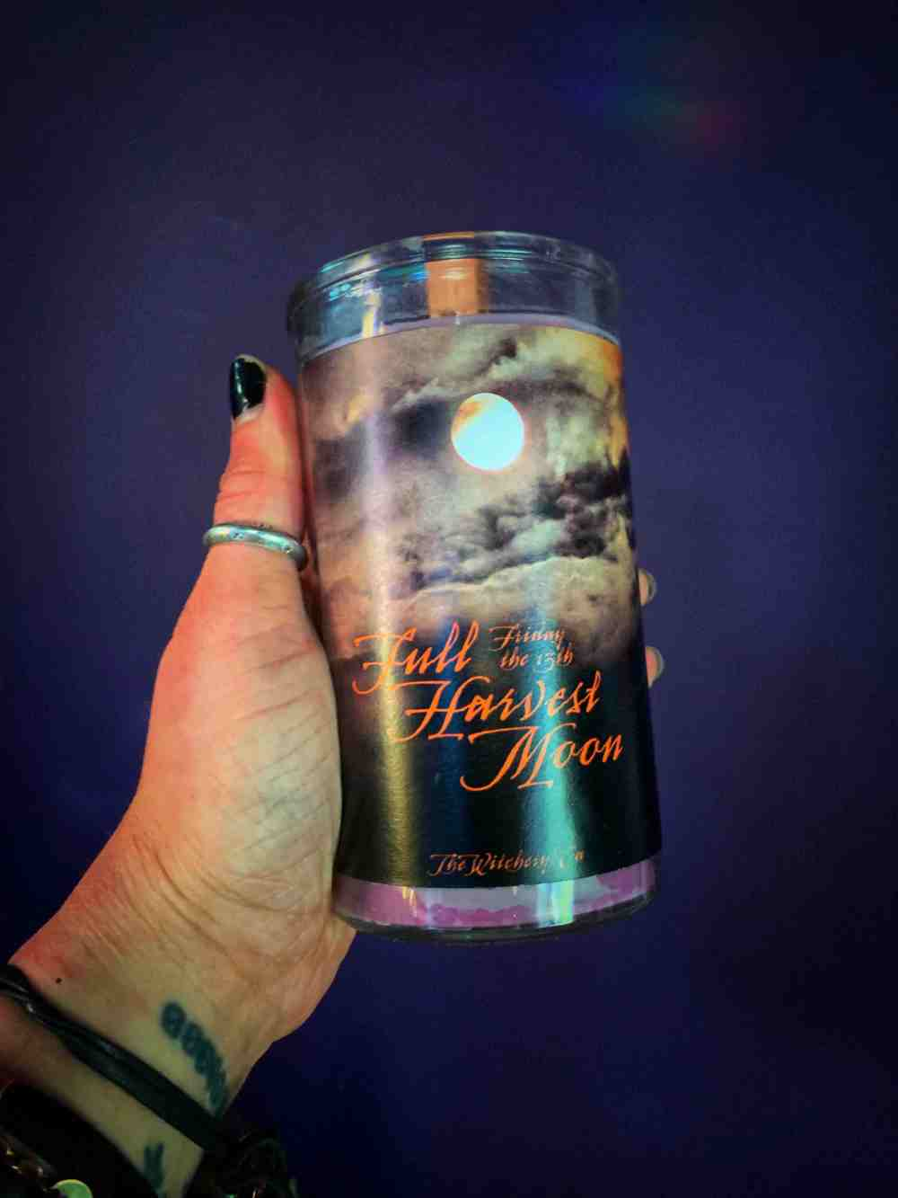 Harvest Moon Friday the 13th Vigil Candle