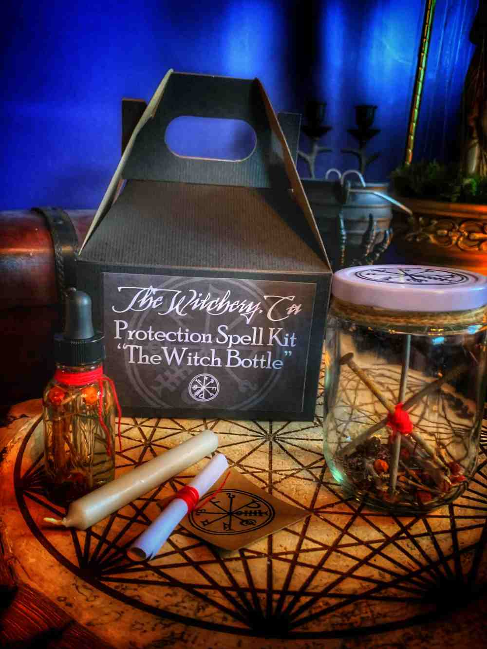 Protection Spell Kit - The Witch Bottle