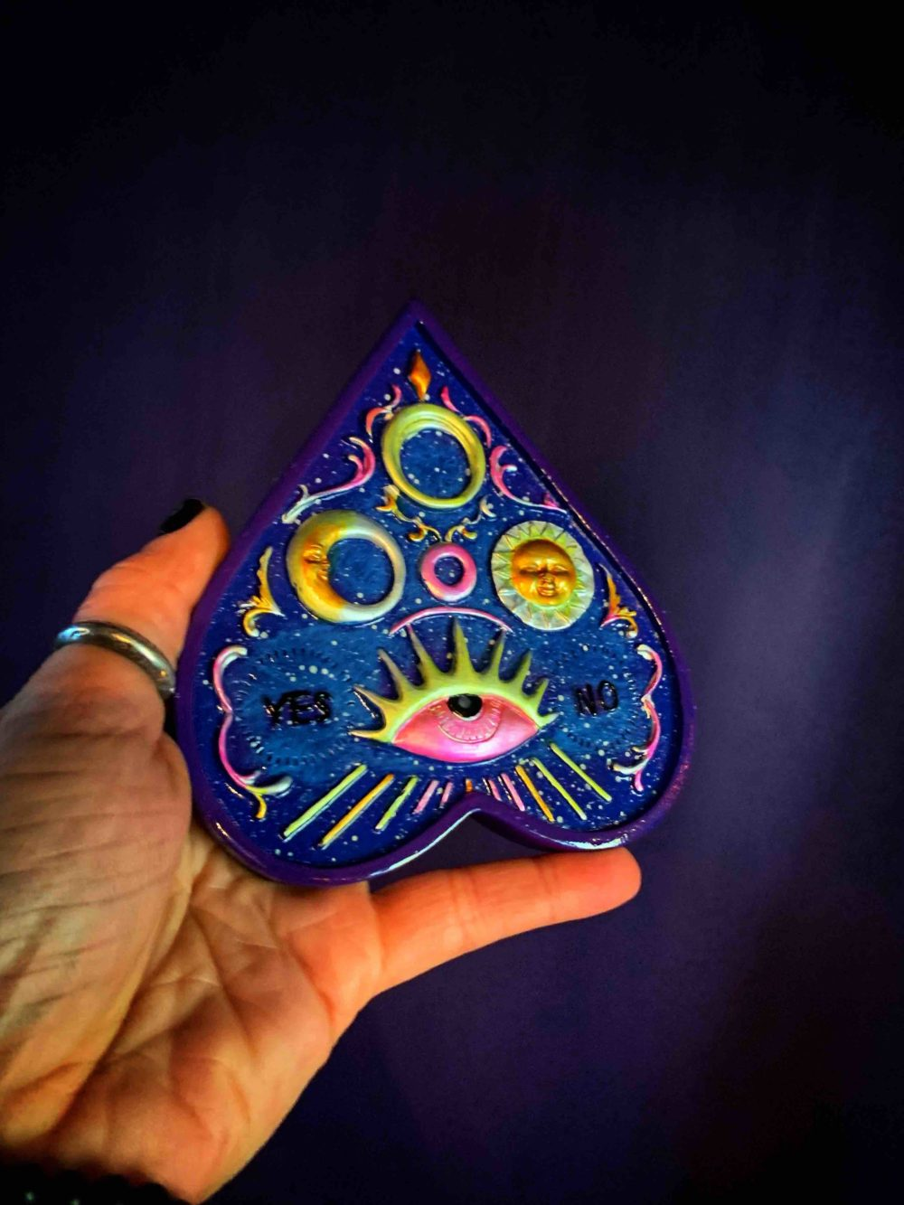 Planchette Incense Stick Burner