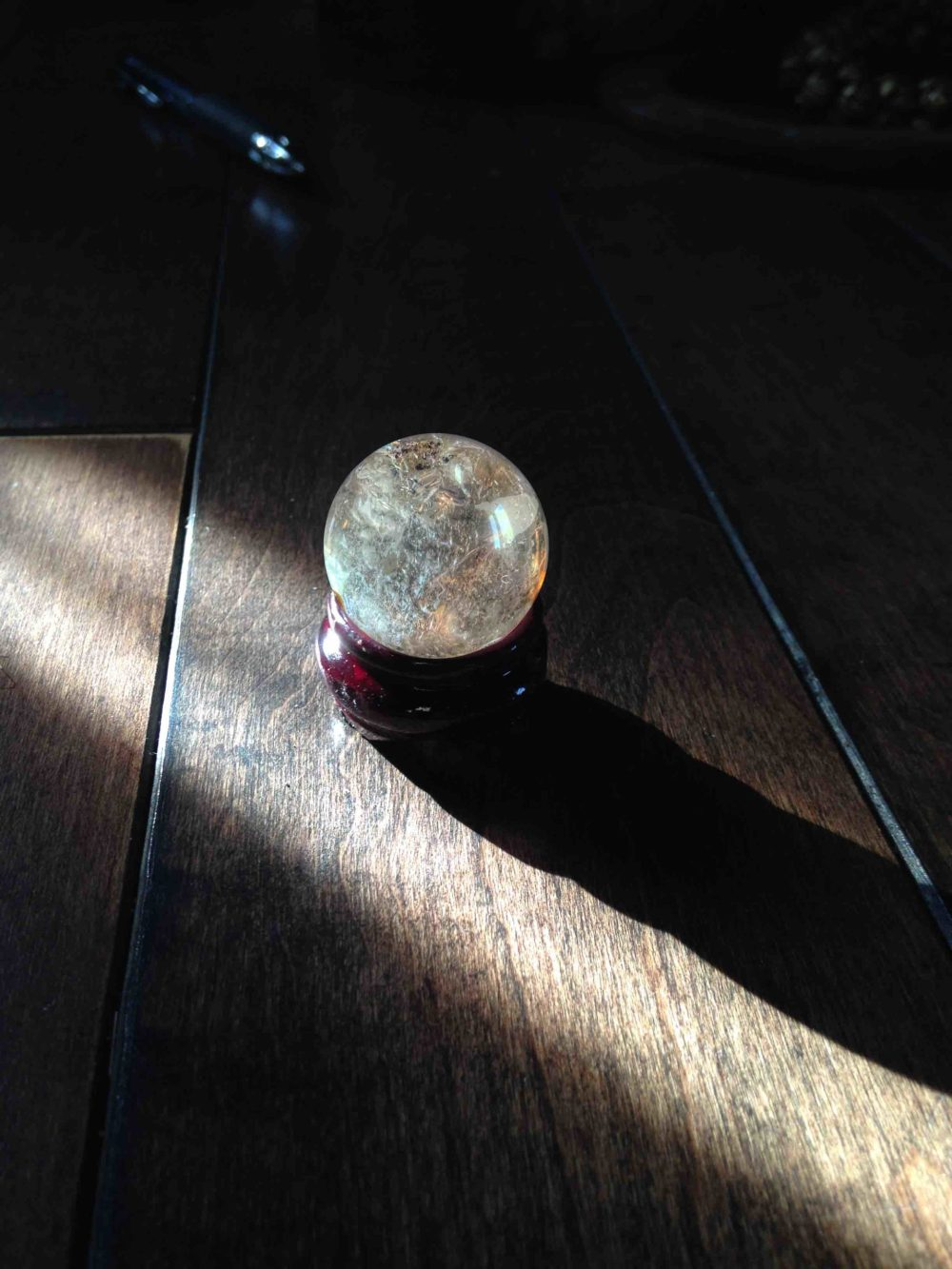 Mini Quartz Sphere