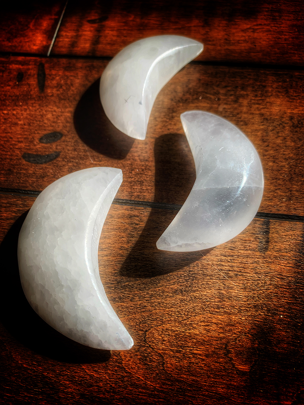 Selenite Moon