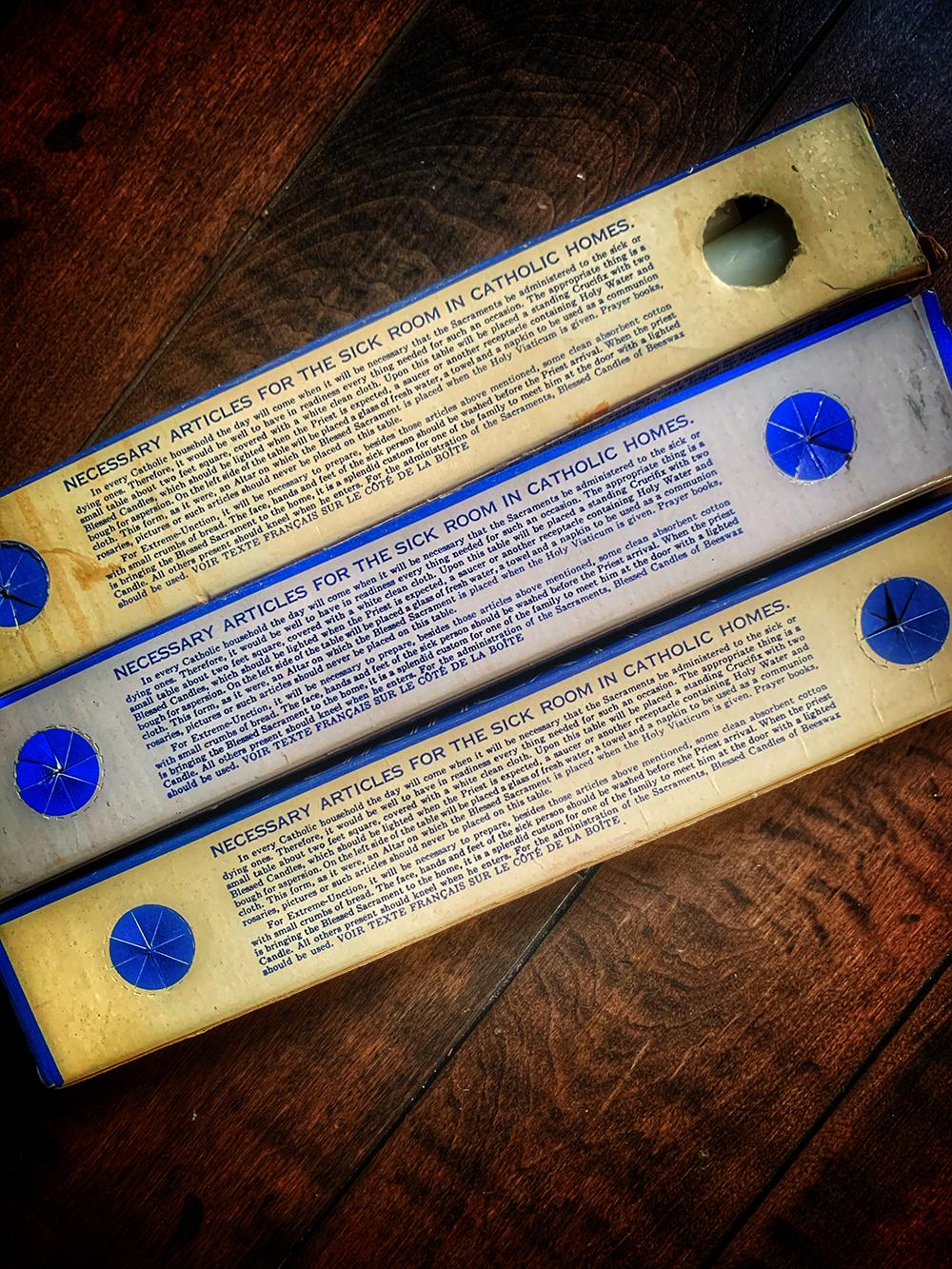 Purification Candle Vintage Box Set