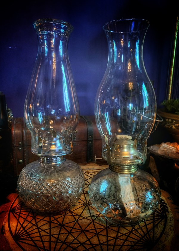 Oil Lamp Magic Vintage