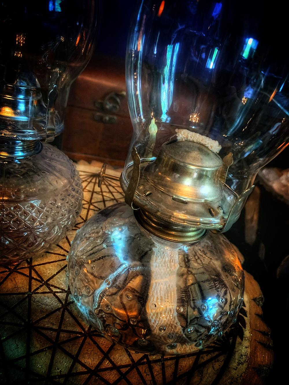 Oil Lamp Magic Vintage