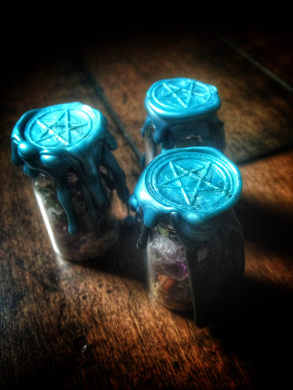 Witch bottle Psychic Vision Dream Battery