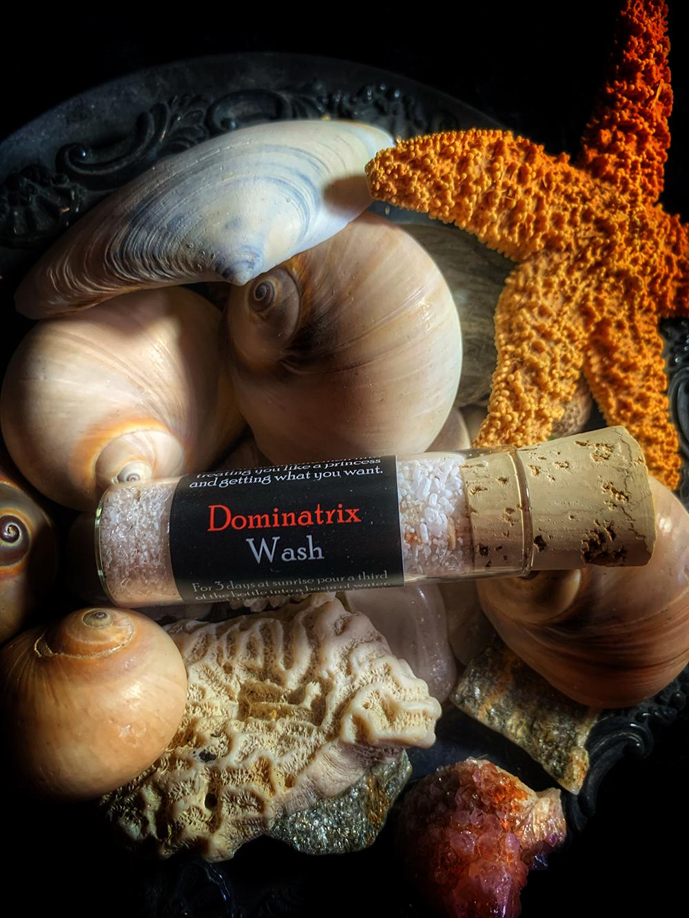 Dominatrix Ritual Wash