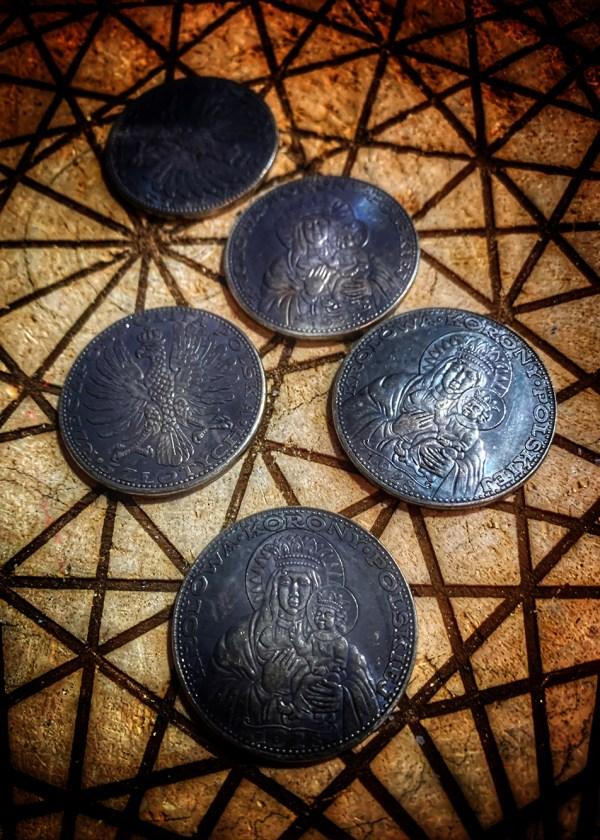 Black Madonna Coin