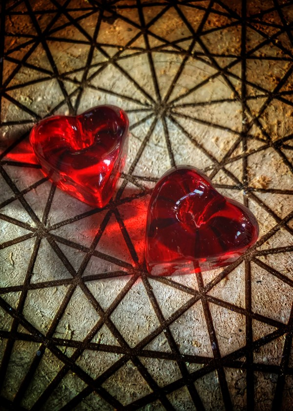 Spell Candle Holder Heart