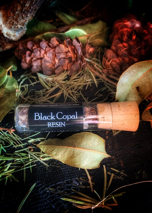 Black Copal Resin Incense