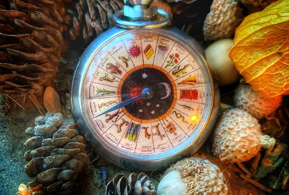 Vintage Occult Ouija Board Pocket Watch