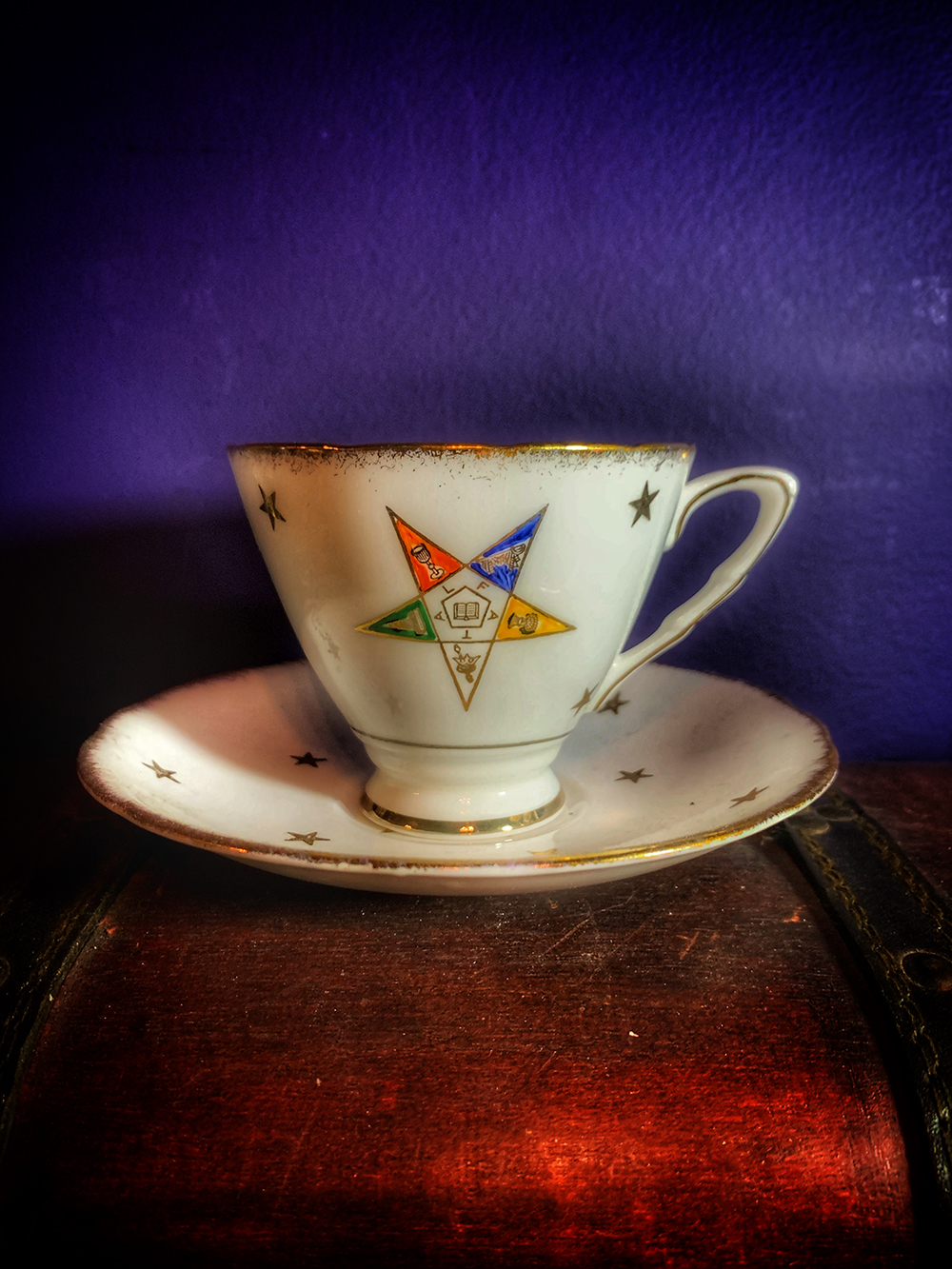 Order of the Eastern Star Teacup