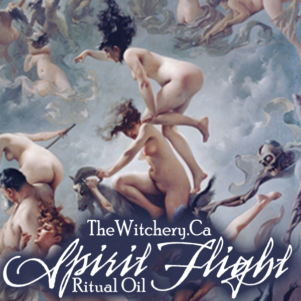 Spirit Flight Ritual Oil