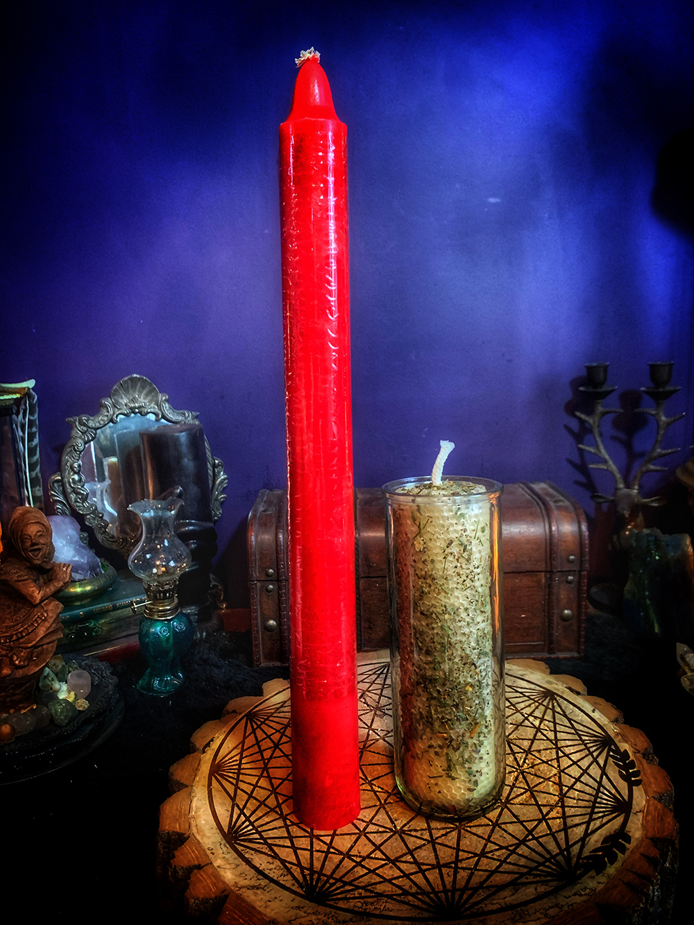 Big Ass Red Candle