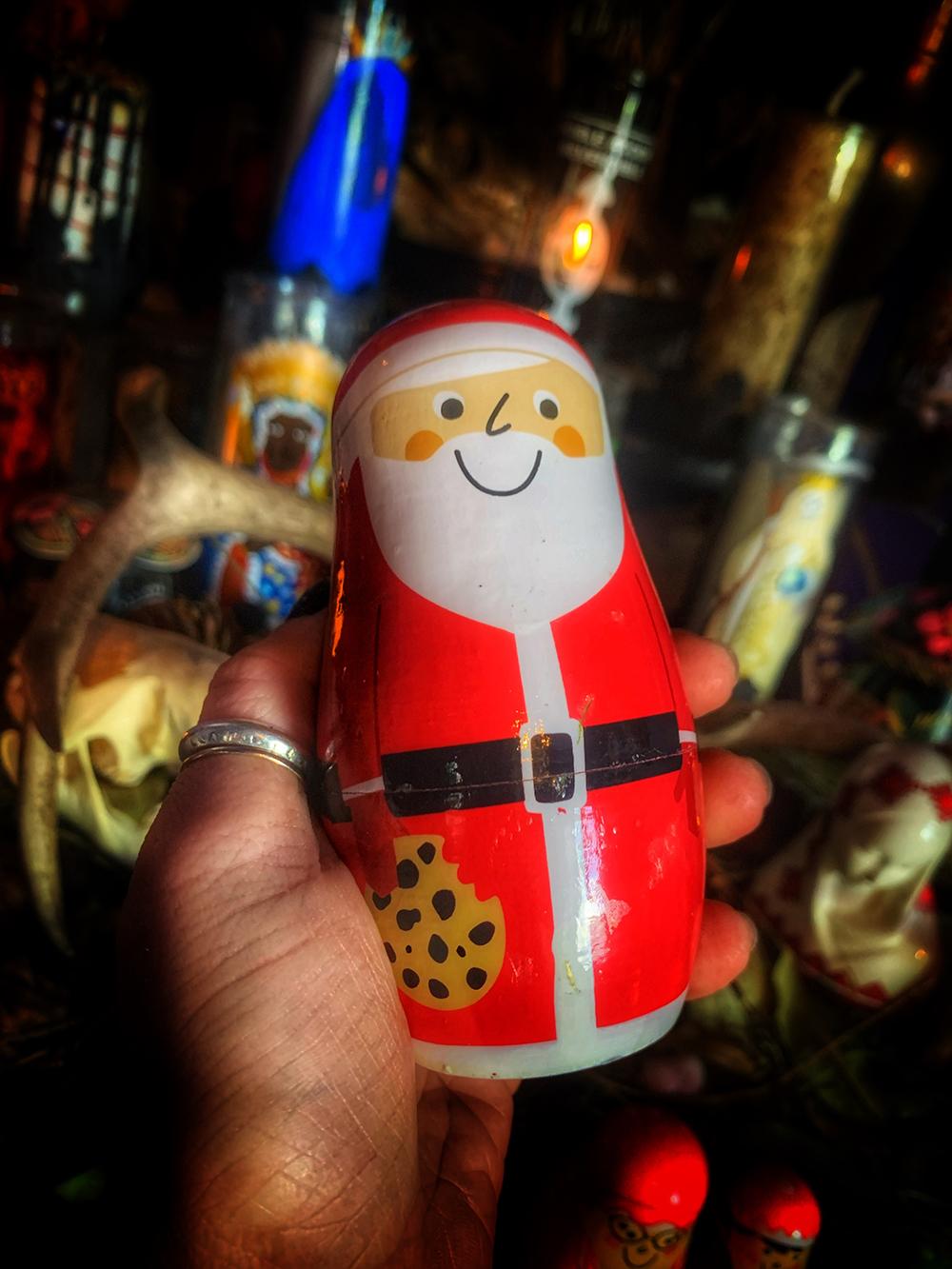 Matryoshka Santa Spell Doll