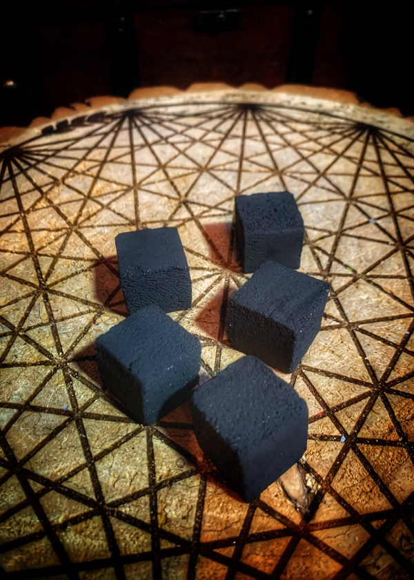 Coconut Charcoal Cube