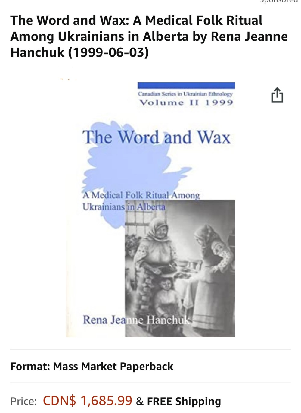 The word and wax