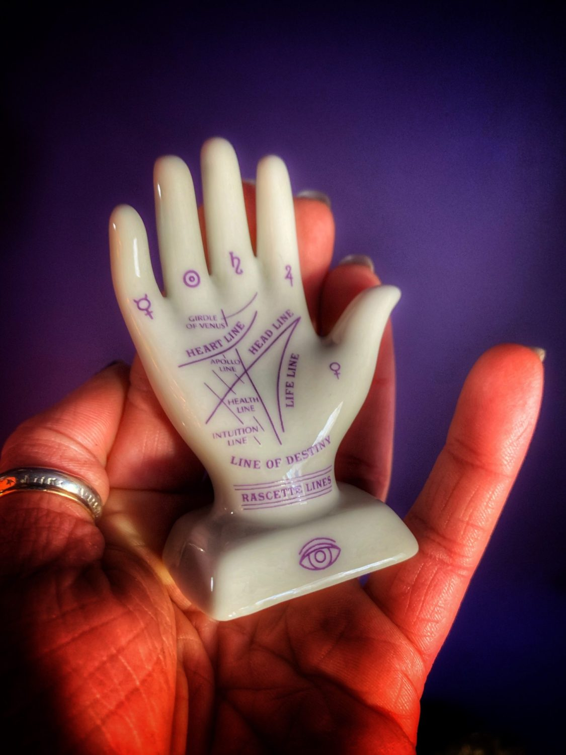 Tiny Palmistry Set
