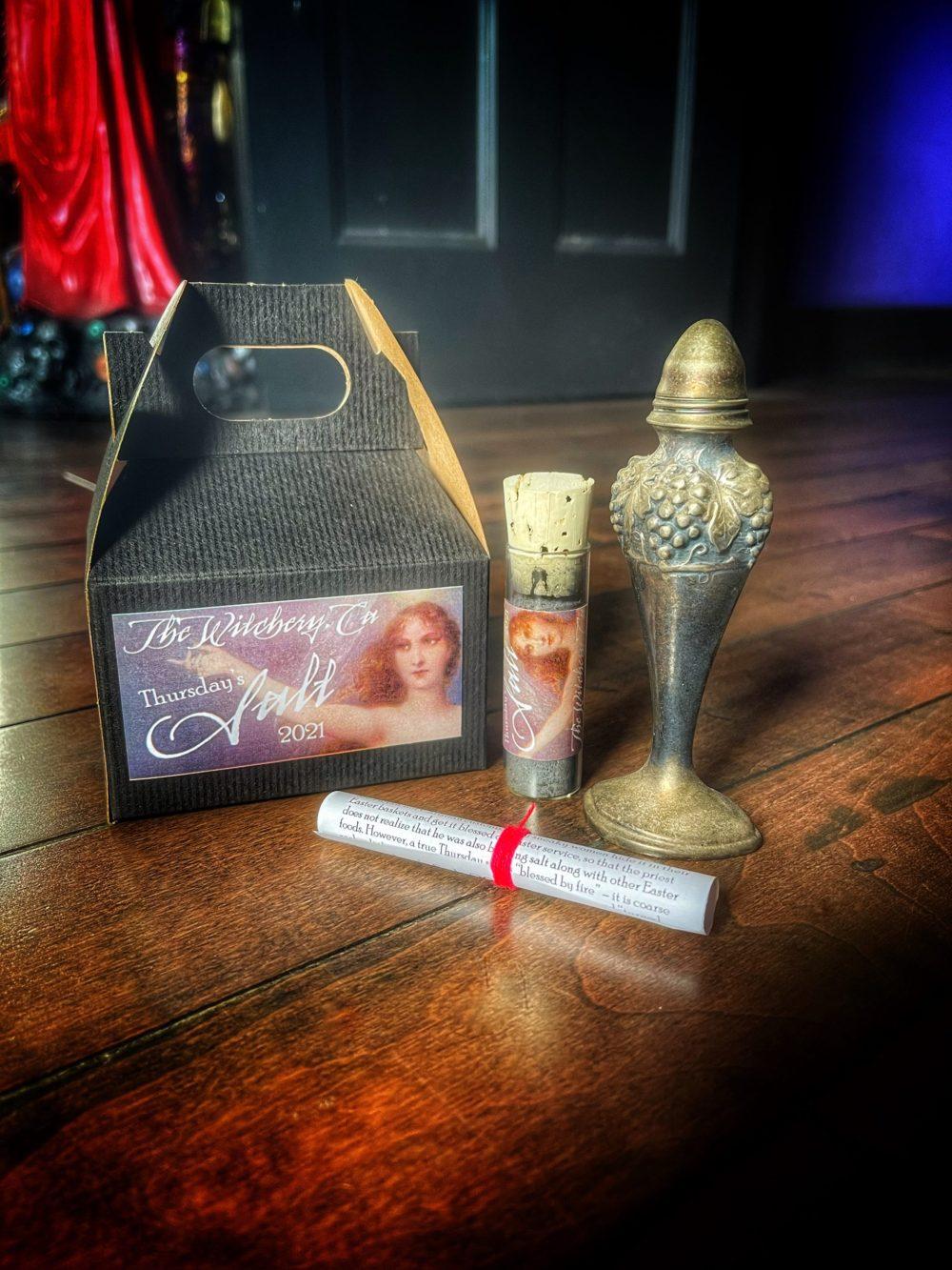 Thursdays Salt Witches Salt Kit