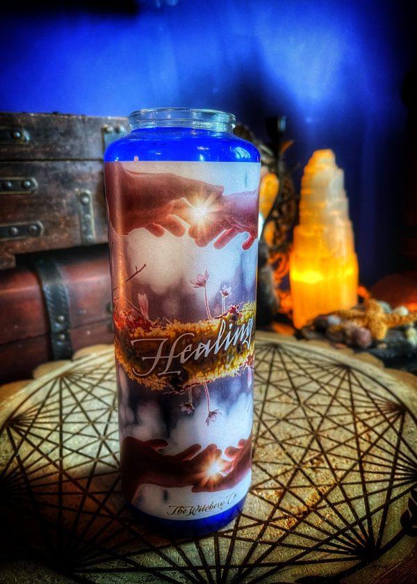 Healing Fixed & Dressed Vigil Candle