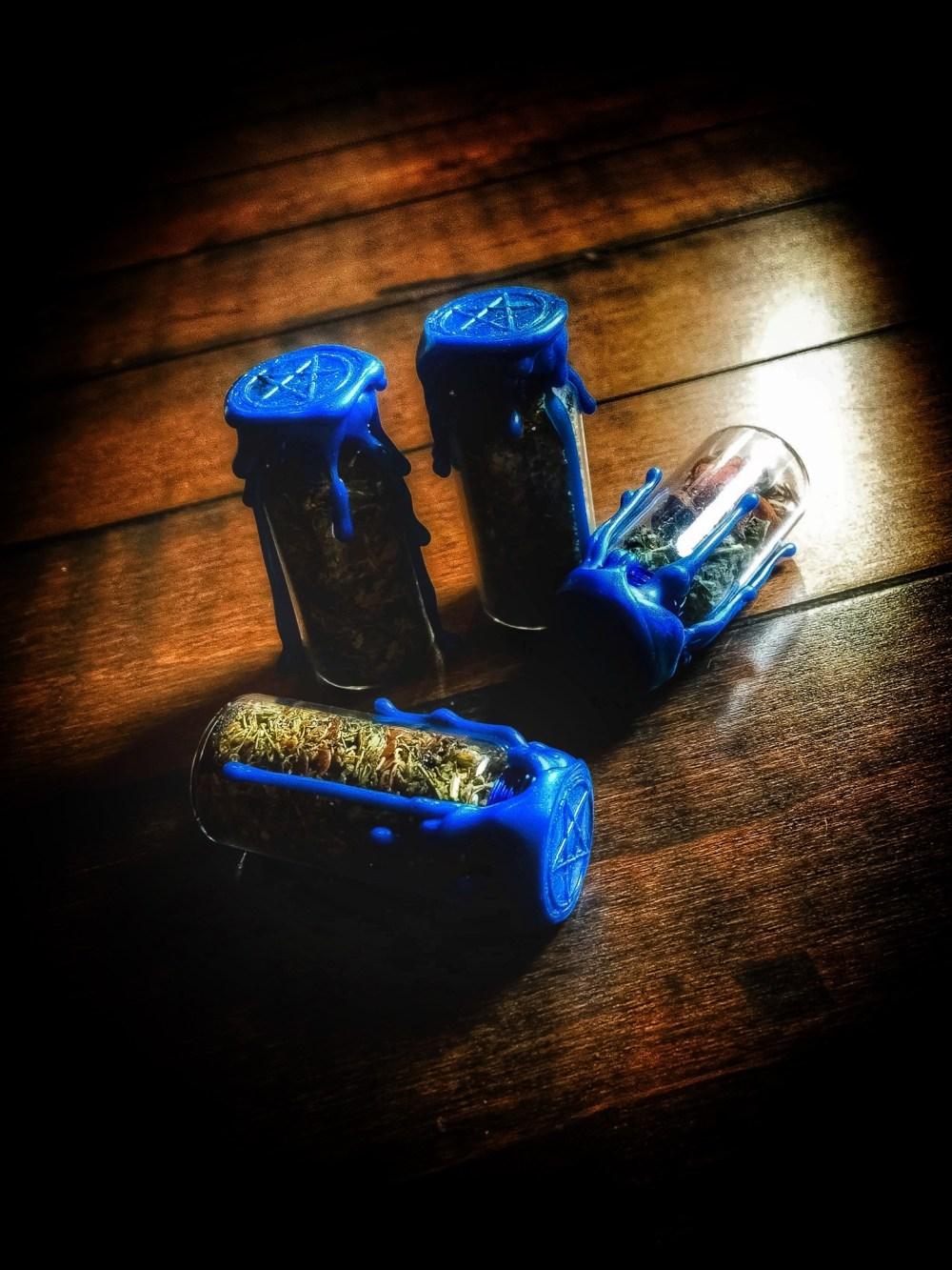 Spirit Flight Witch Bottle Battery