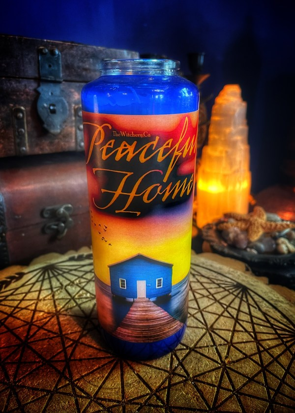 Peaceful Home Ritual Candle