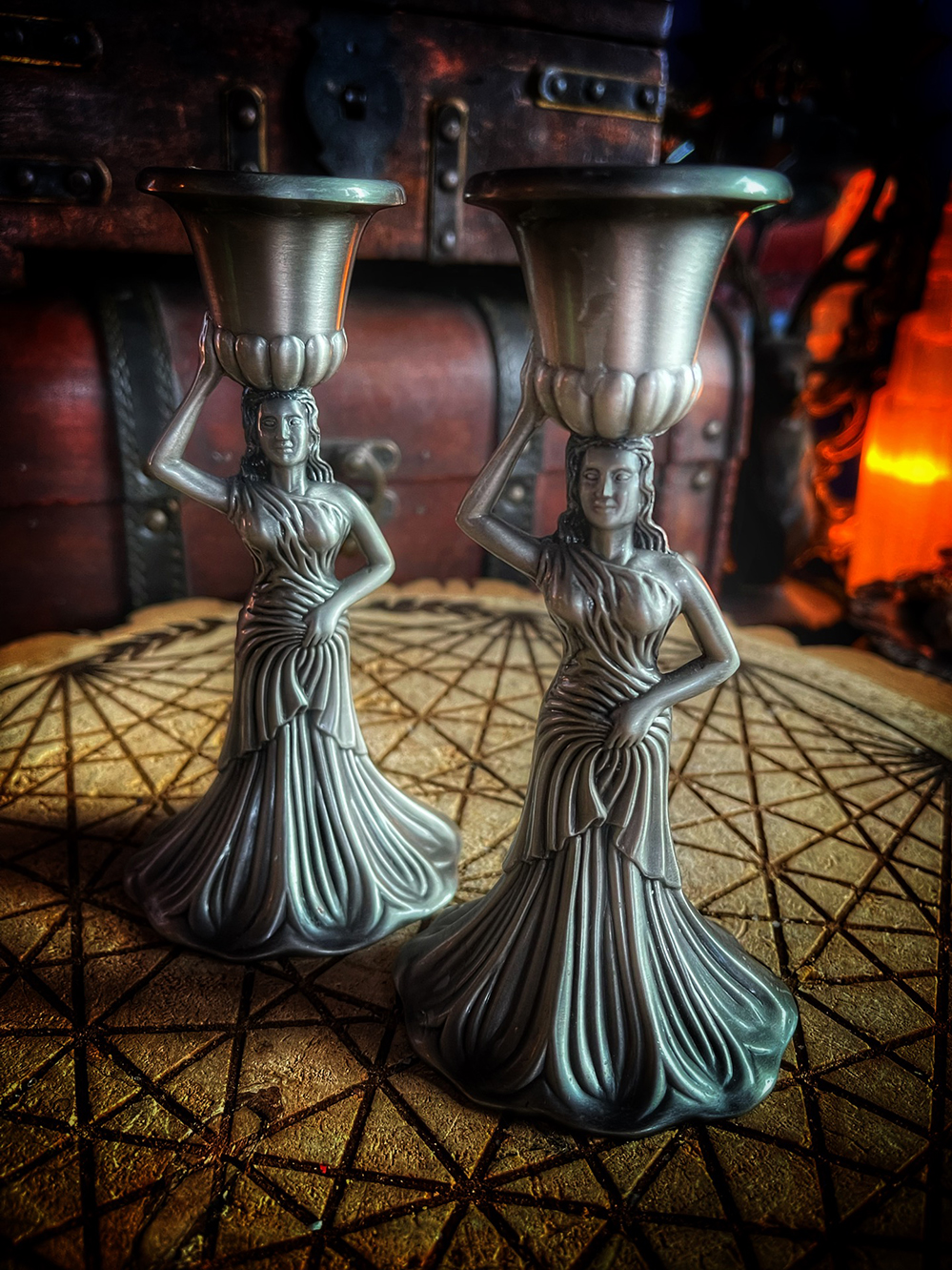 The Maiden Candlestick Vintage