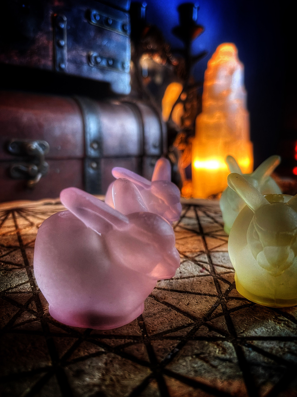 Spell Candle Holder Rabbit