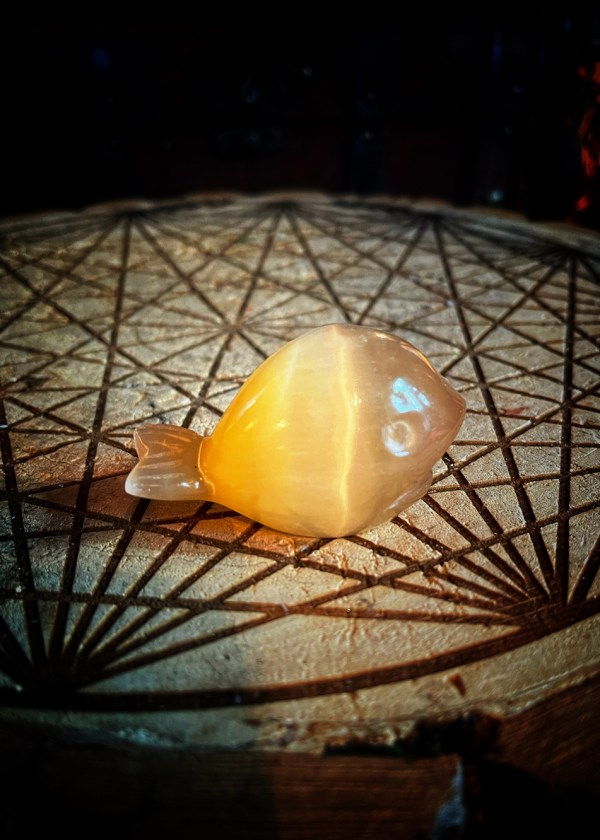 The Whale Vintage USSR Selenite