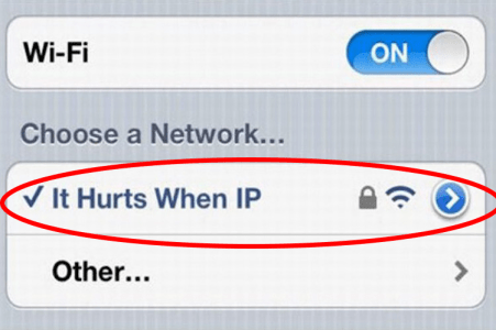 Best Wifi Names - funny